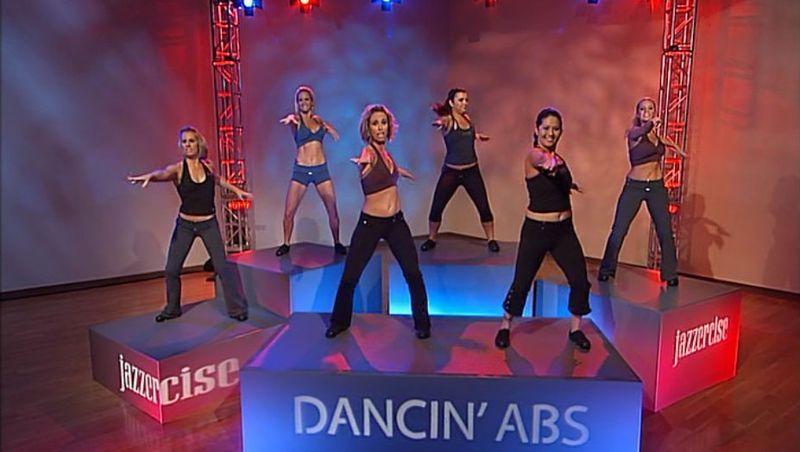 Jazzercise Dancin Abs DVD