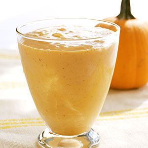 Pumpkin spice click smoothie