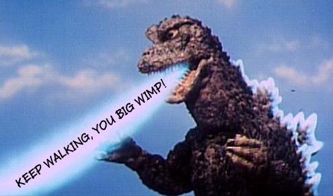 Godzilla WALKING