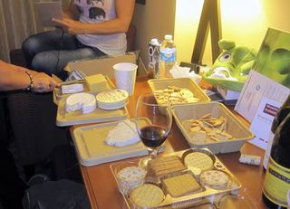 Wine and cheese party