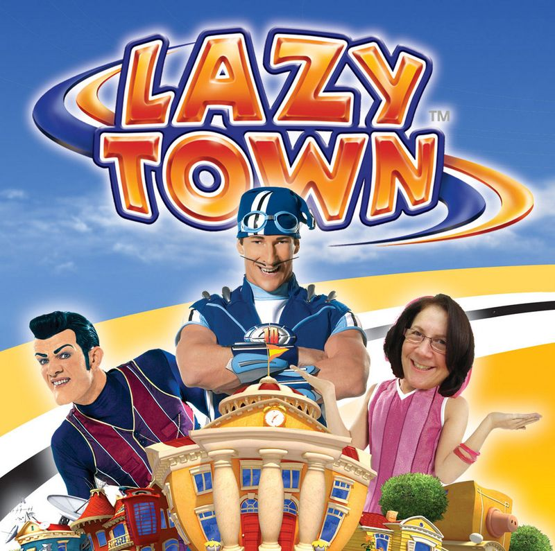 Lazytown with gail