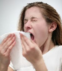 Sneezy face