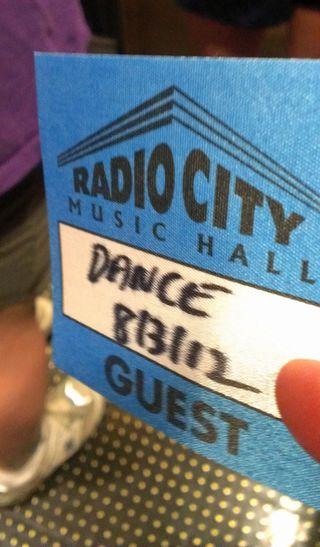 Rockettes dance pass