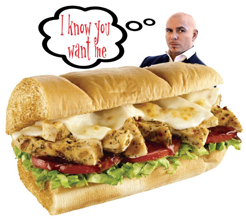 Pitbull subway copy