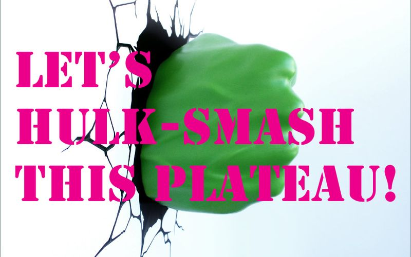 Hulk smash plateau