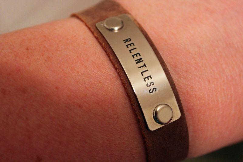 Relentless bracelet