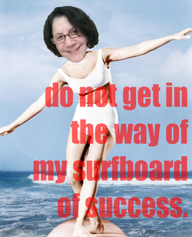 Surfboard of success