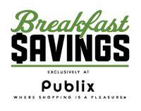 Breakfast savings publix