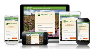 Nutrilite supplement recommender