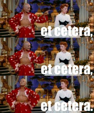 Et cetera et cetera et cetera