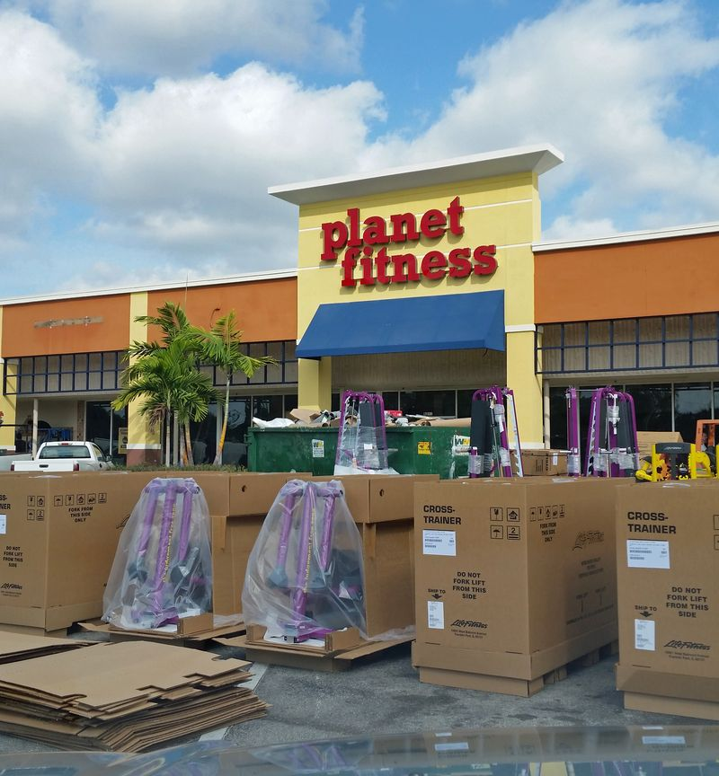 New planet fitness