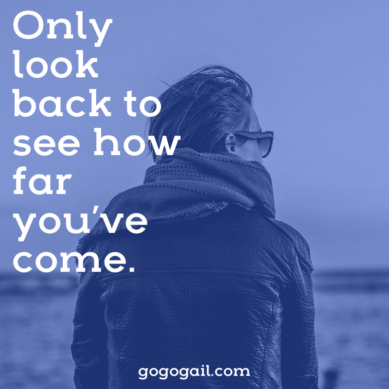 Only look back