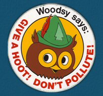 woodsy owl give a hoot don't pollute