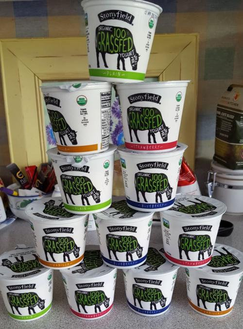Stonyfield grassfed yogurt