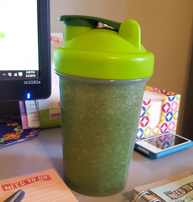 Doctor oz green smoothie drink