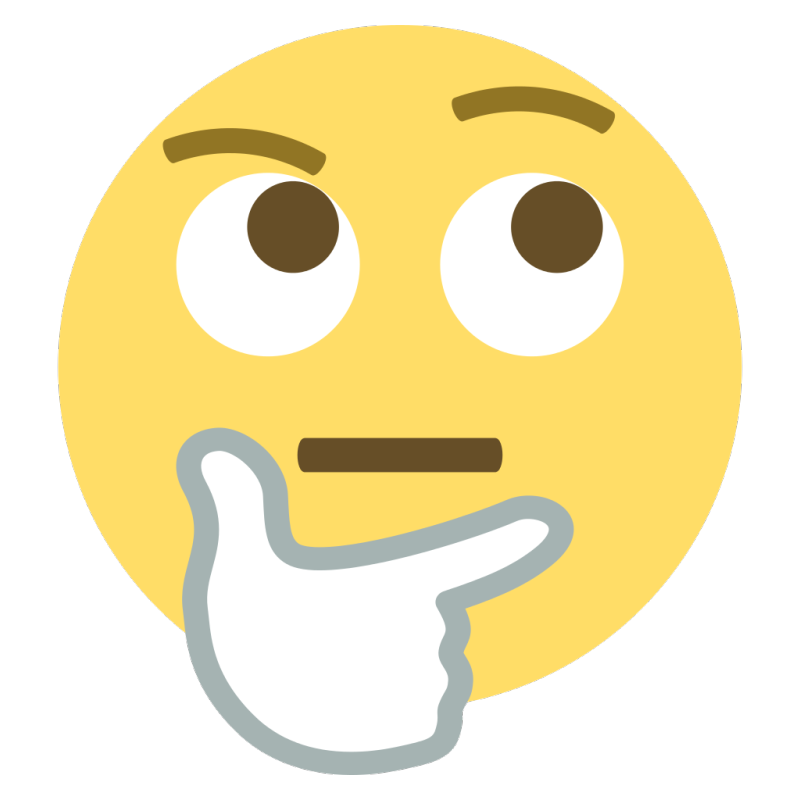 Emoji-question