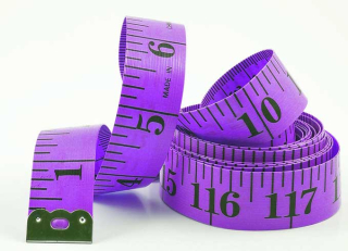 Purple-measuring-tape