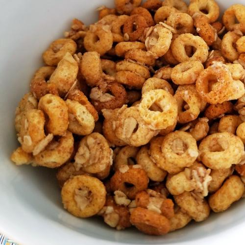 Cheerios texture