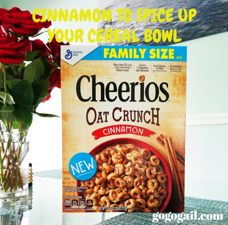 Cheerios oat crunch flowers