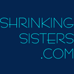 shrinking sisters button